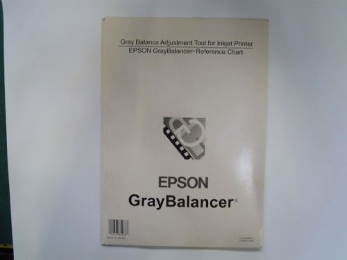 Epson Gray Balancer Adjustment Tool For Inkjet Printer